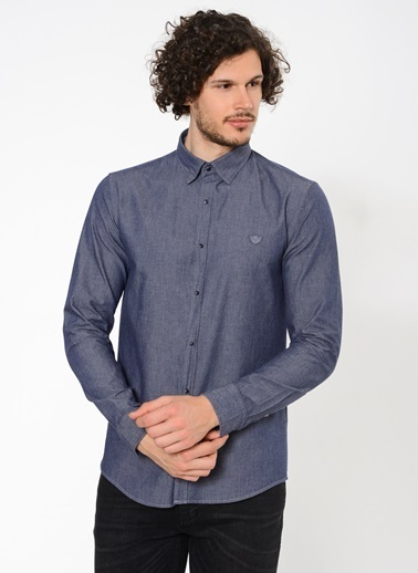 Beymen Business Slim Fit Gömlek İndigo